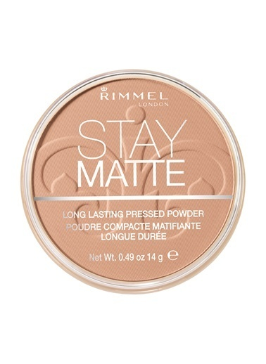 Rimmel London Stay Matte Pressed Powder Pudra  010-Warm Honey-Rimmel London